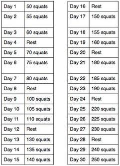 picture regarding 30 Day Squat Challenge Printable referred to as 30 working day Squat dilemma rvm06s Web site